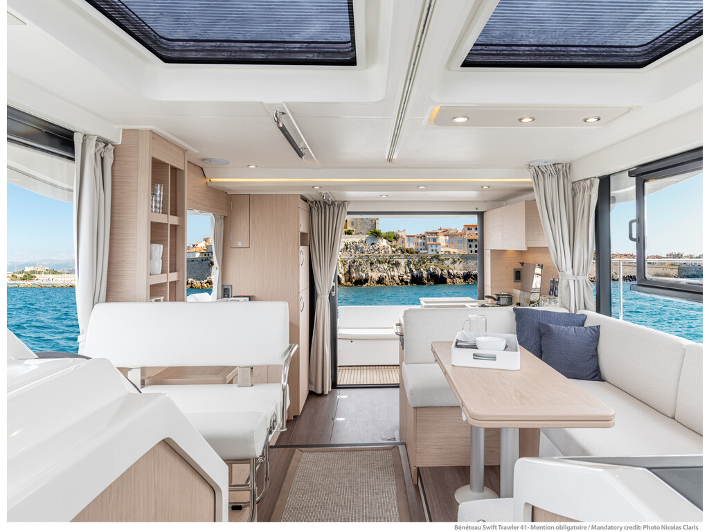 2021 Beneteau boat for sale, model of the boat is Swift Trawler 41 Fly & Image # 12 of 19