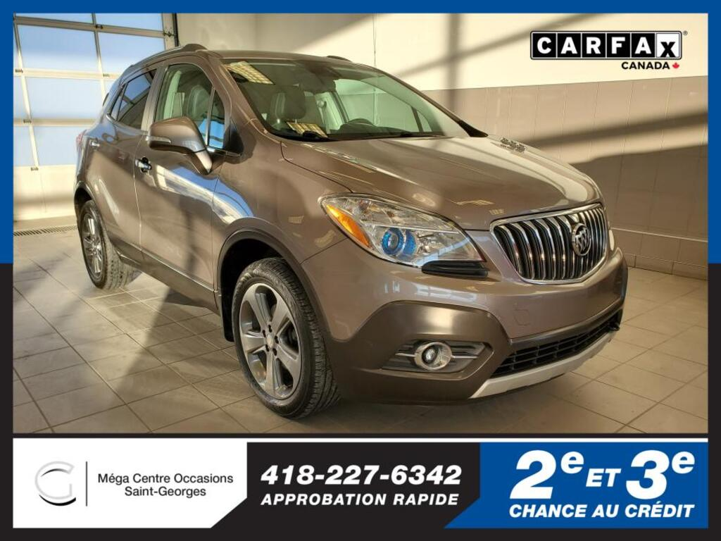 2014 Buick  Encore CONVENIENCE AWD MAGS 18 AUCUN ACCIDENT