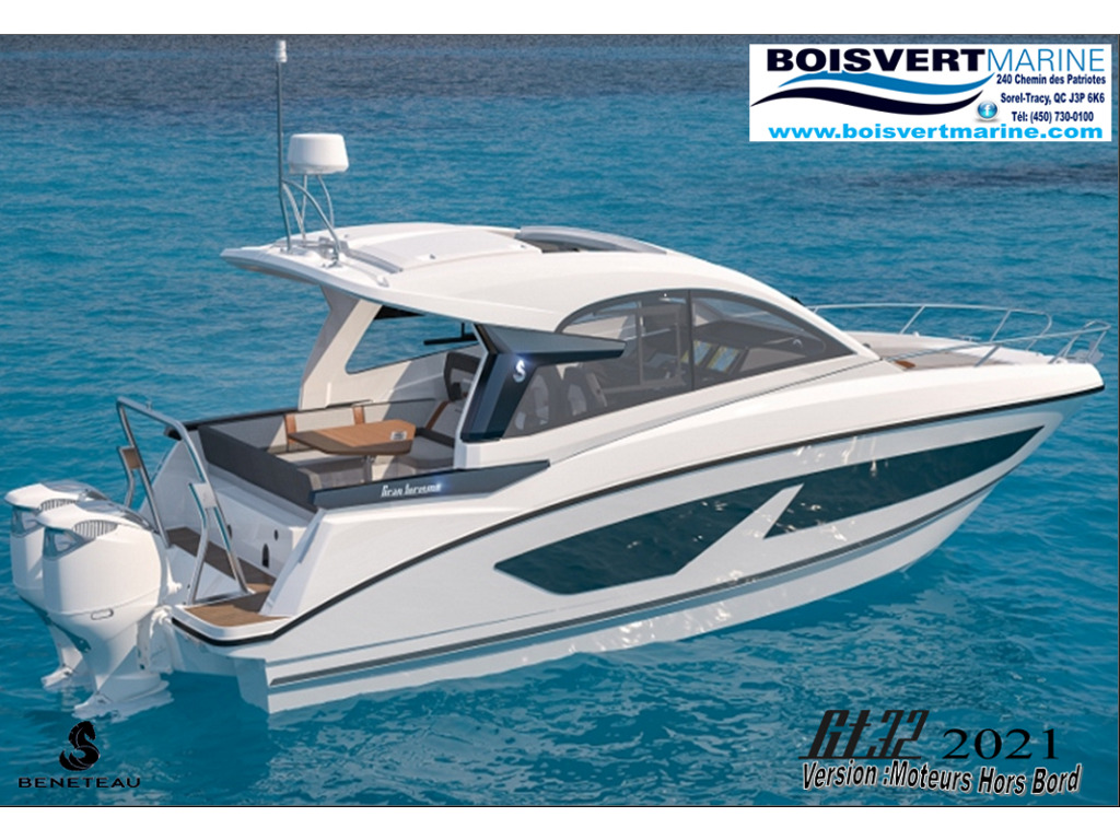 2021 Beneteau boat for sale, model of the boat is Gt32 O/b & Image # 17 of 24