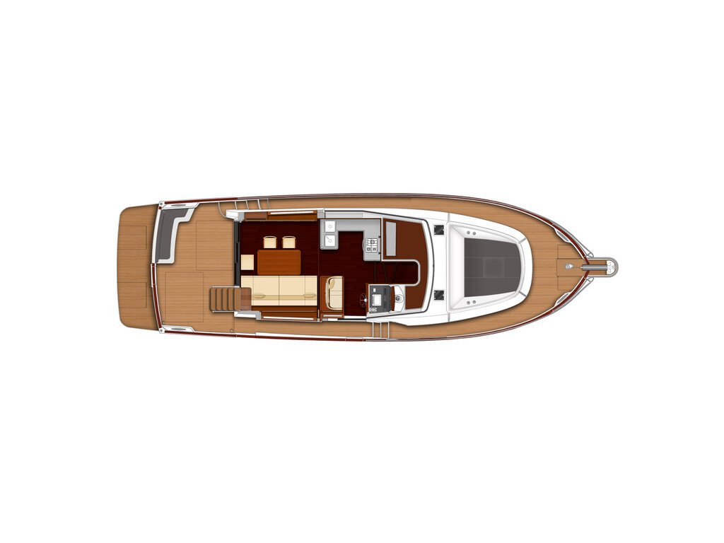 2020 Beneteau boat for sale, model of the boat is Swift Trawler 44 & Image # 13 of 14