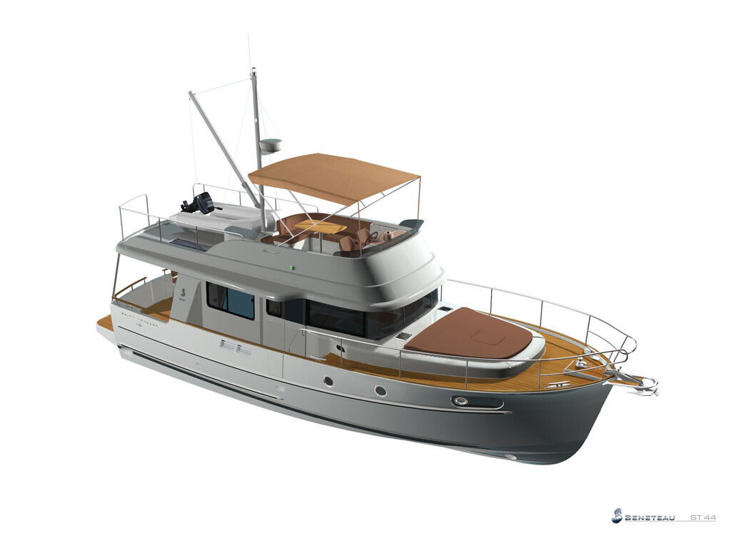 2021 Beneteau boat for sale, model of the boat is Swift Trawler 44 & Image # 14 of 14