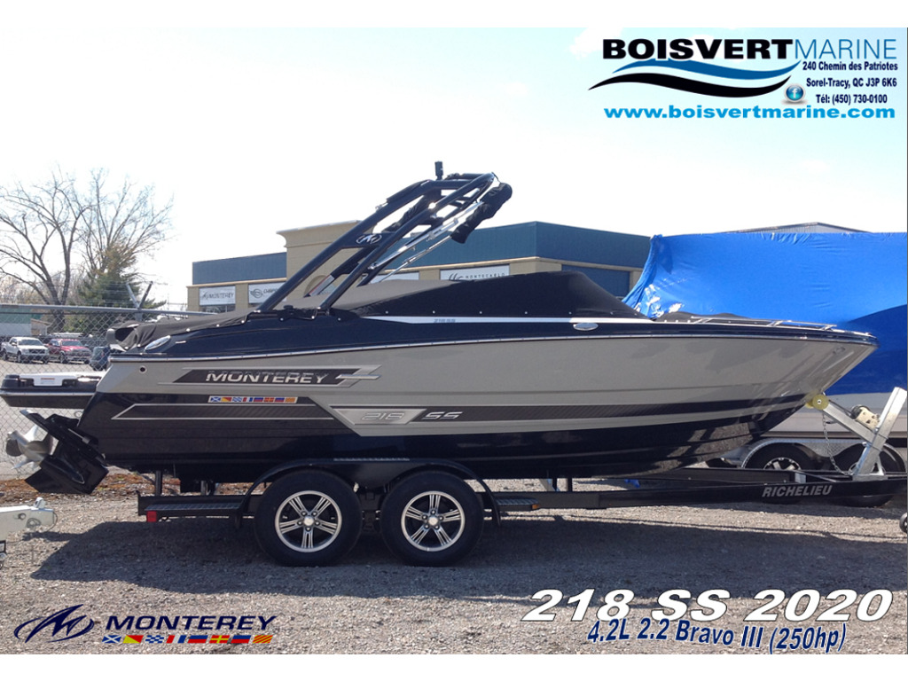 2020 Monterey boat for sale, model of the boat is 218 Ss & Image # 1 of 14