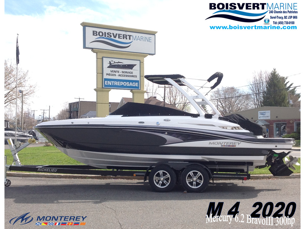 2020 Monterey boat for sale, model of the boat is M4 & Image # 1 of 15