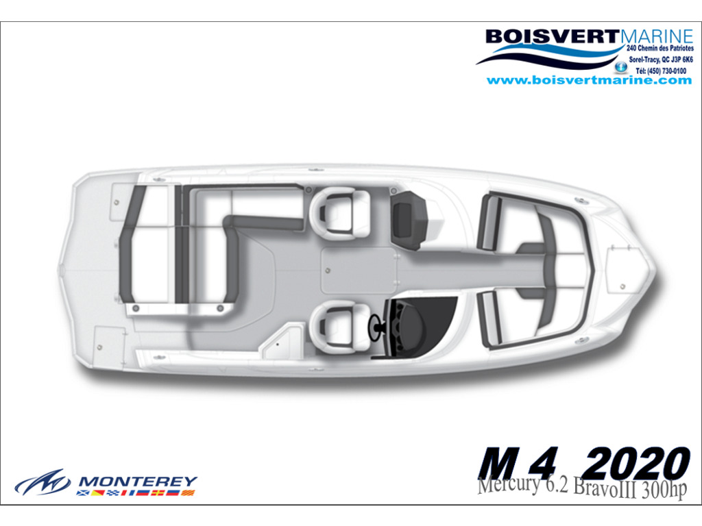 2020 Monterey boat for sale, model of the boat is M4 & Image # 2 of 15