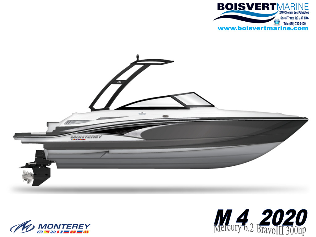 2020 Monterey boat for sale, model of the boat is M4 & Image # 2 of 16
