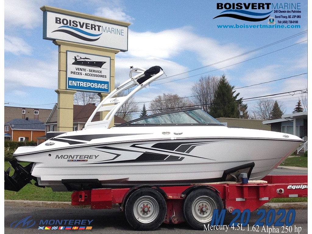 2020 Monterey boat for sale, model of the boat is M20 & Image # 1 of 17