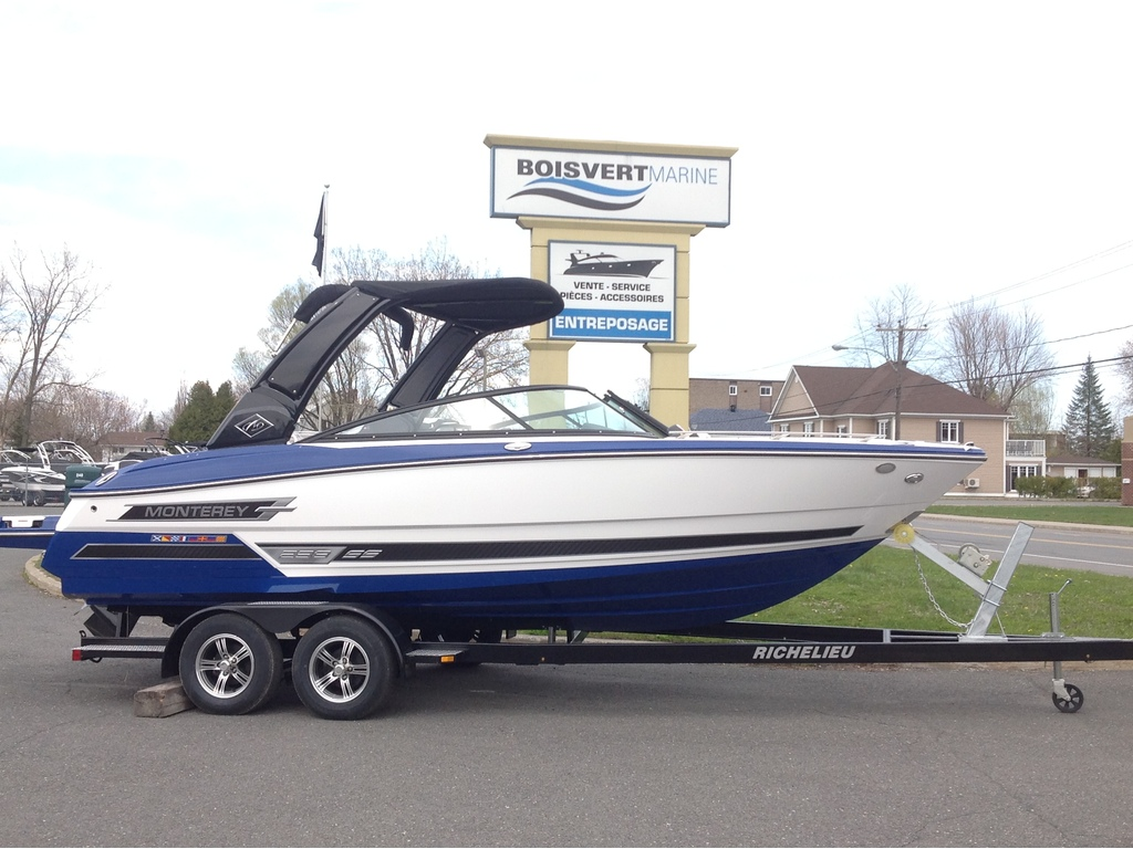 2020 Monterey boat for sale, model of the boat is 238 Ss & Image # 1 of 20