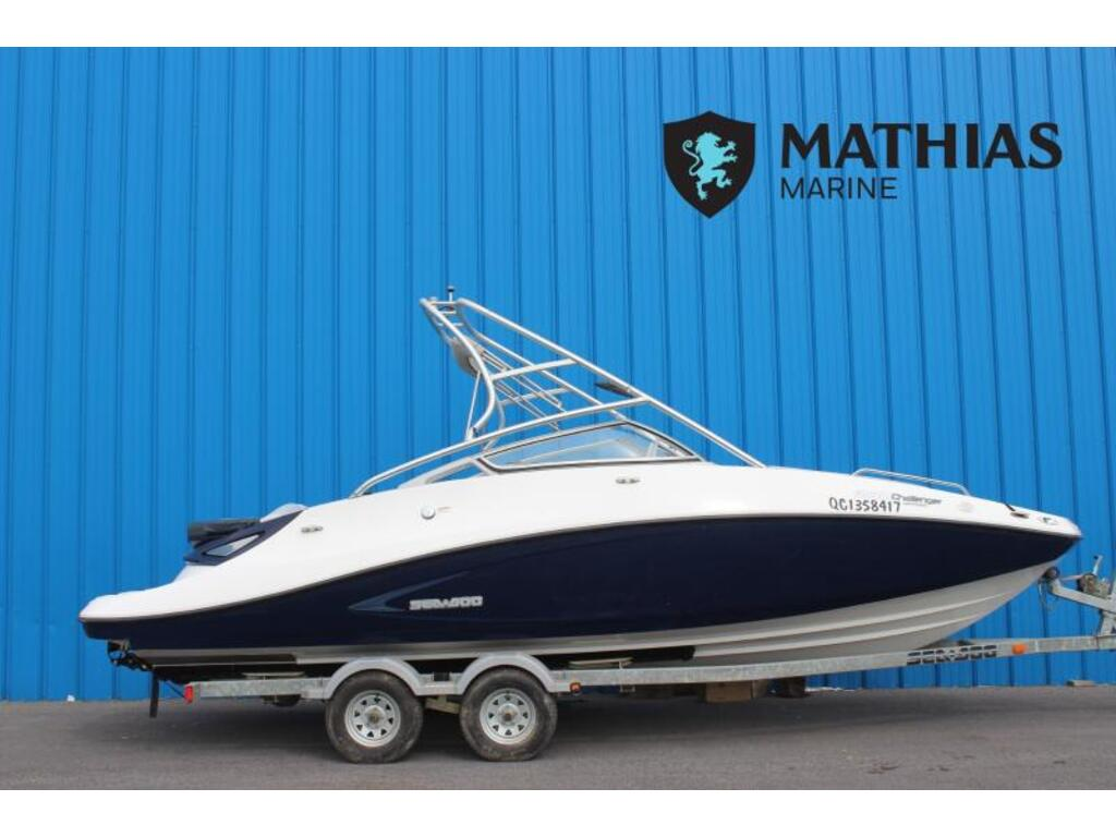 2008 Sea Doo Sportboat boat for sale, model of the boat is Challenger 230 & Image # 1 of 6