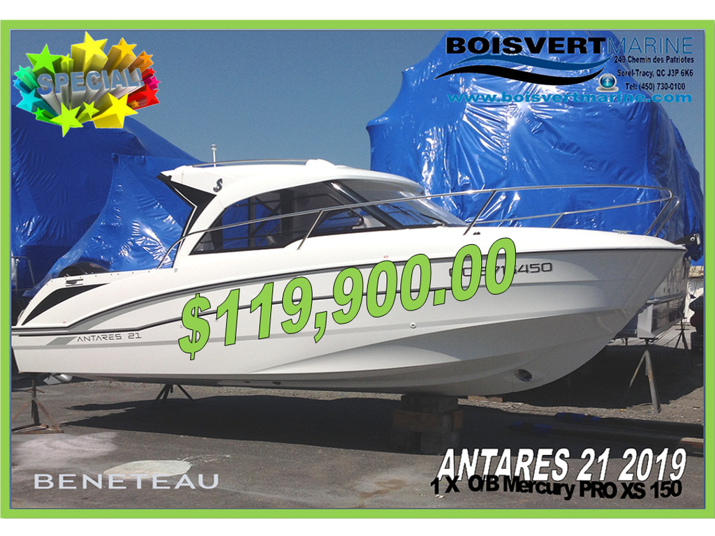 2019 Beneteau boat for sale, model of the boat is Antares 21 & Image # 1 of 24