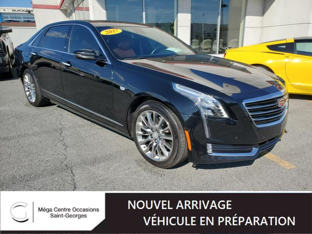 2017 Cadillac  CT6 LUXURY AWD FULL CUIR TOIT NAVIGATION