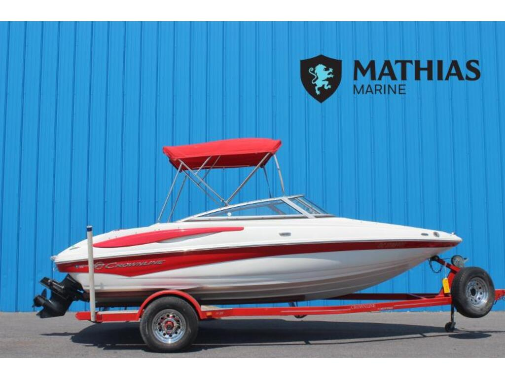 2008 Crownline boat for sale, model of the boat is 185 Ss & Image # 1 of 4