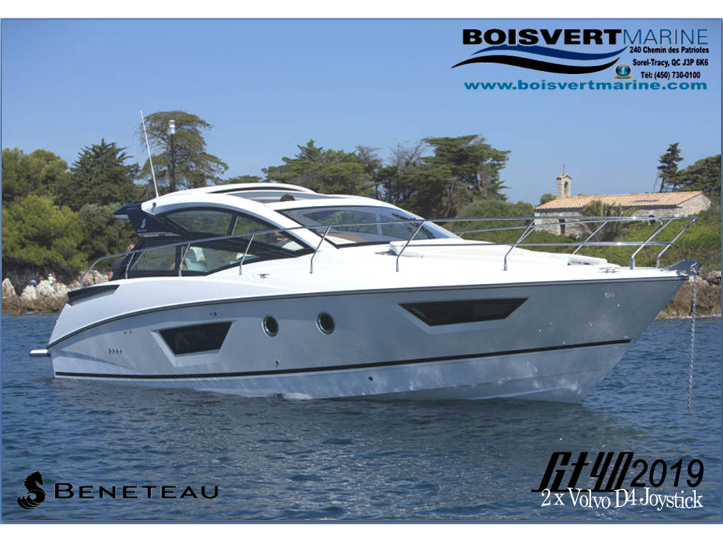 2018 Beneteau boat for sale, model of the boat is Gt40 & Image # 1 of 14