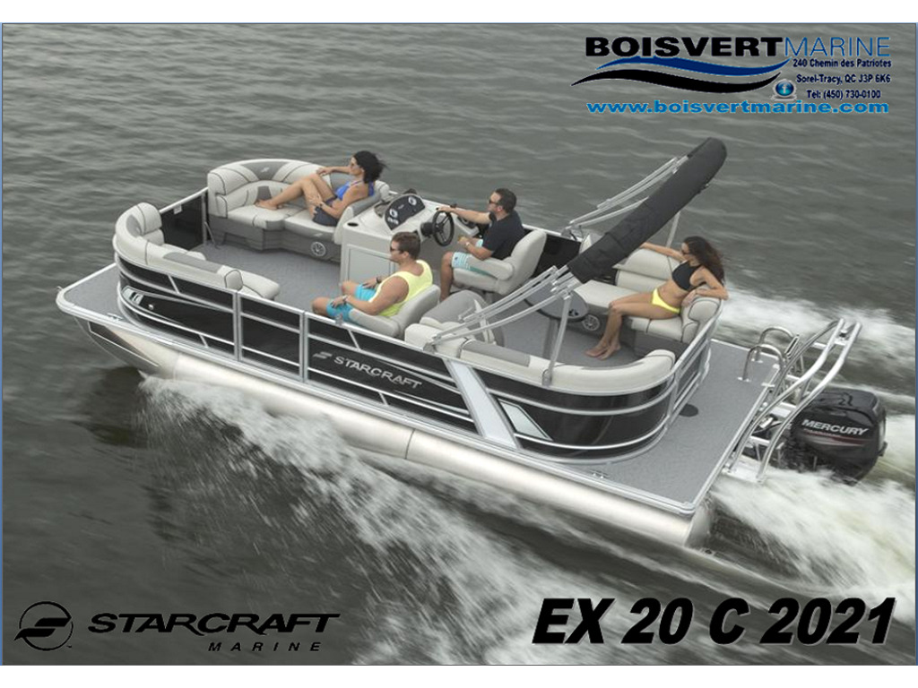 2021 Starcraft boat for sale, model of the boat is Ponton Ex 20c & Image # 11 of 11