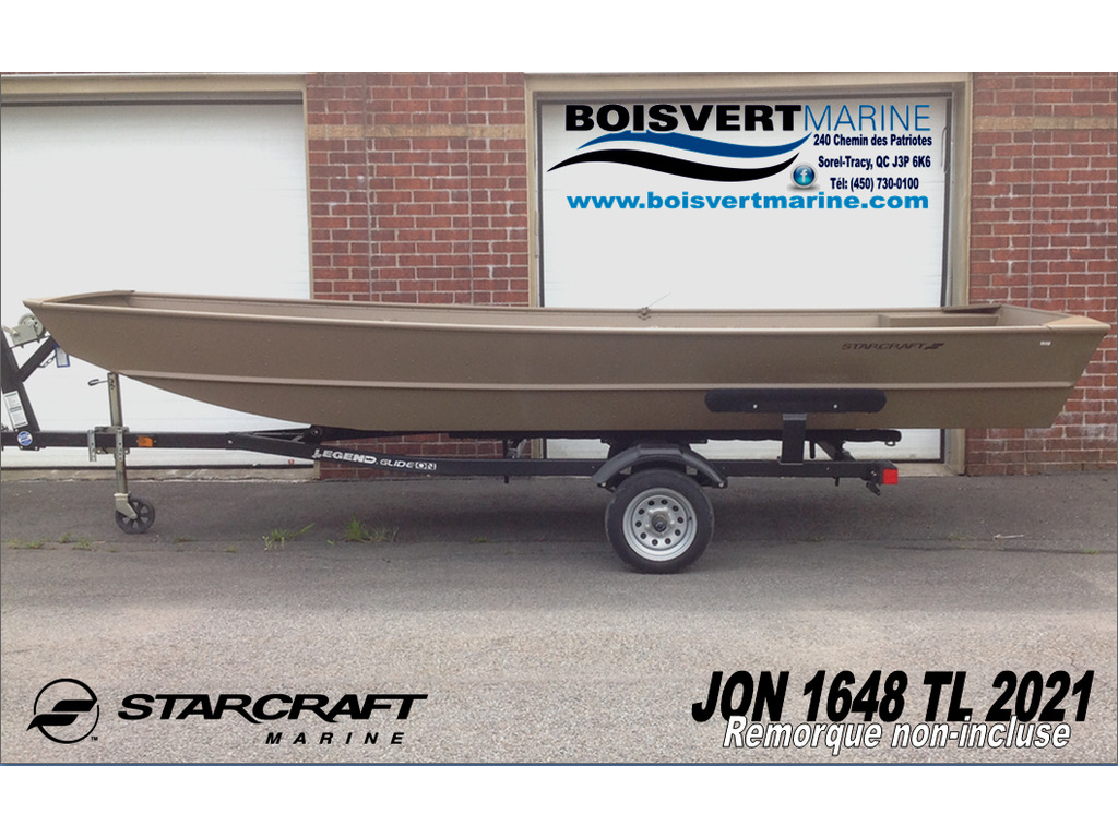 2021 Starcraft boat for sale, model of the boat is Jon Boat 1648 Tl & Image # 4 of 4