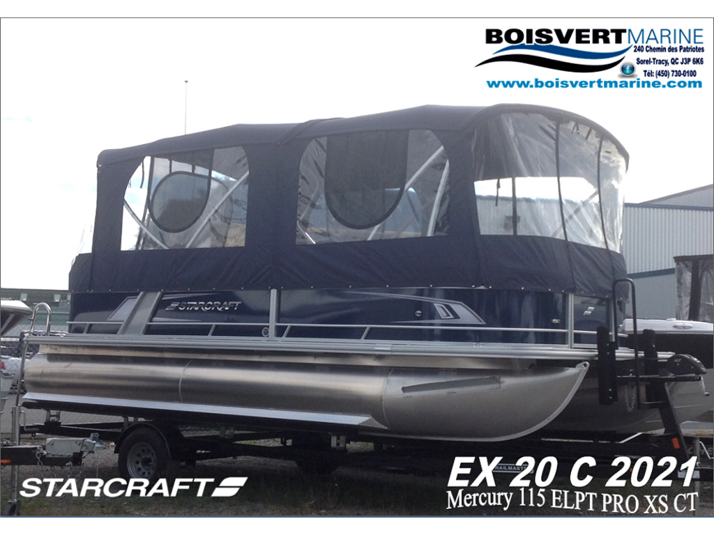 2021 Starcraft boat for sale, model of the boat is Ponton Ex 20c & Image # 1 of 11