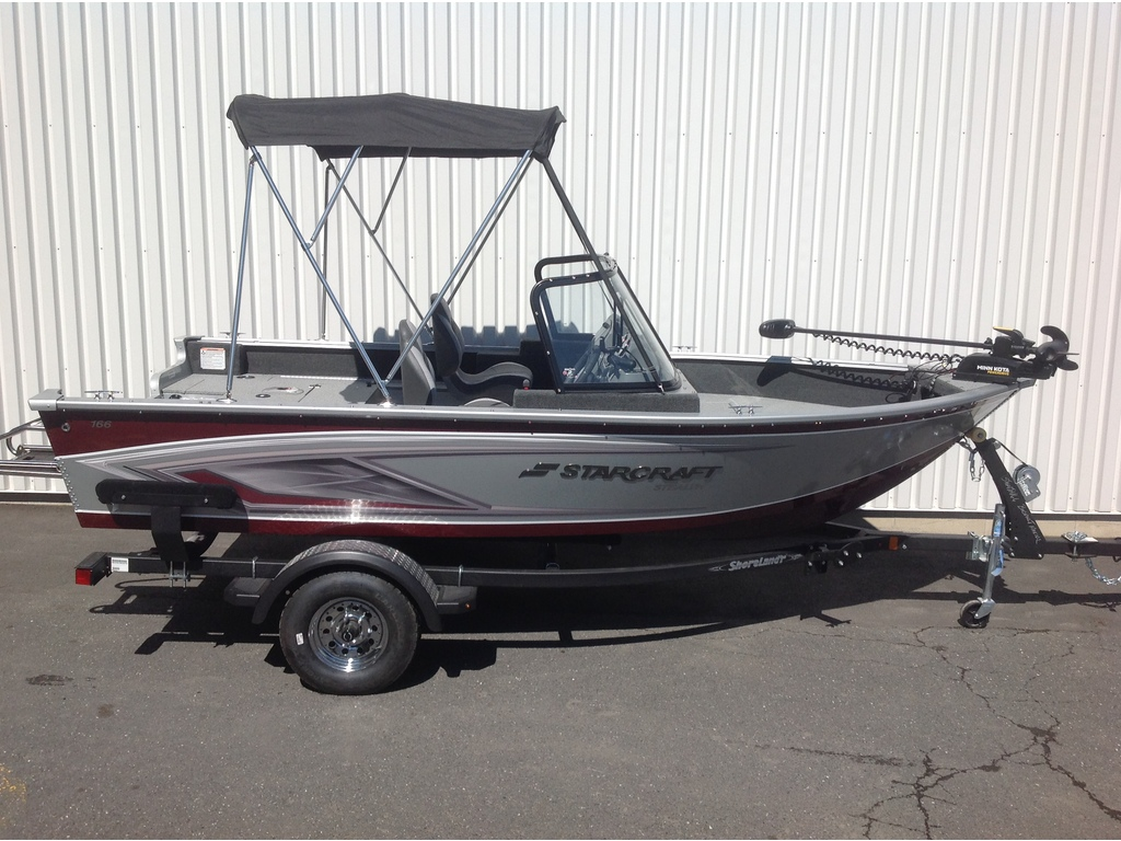 2021 Starcraft boat for sale, model of the boat is Stealth / Furtif 166 Dc & Image # 3 of 15