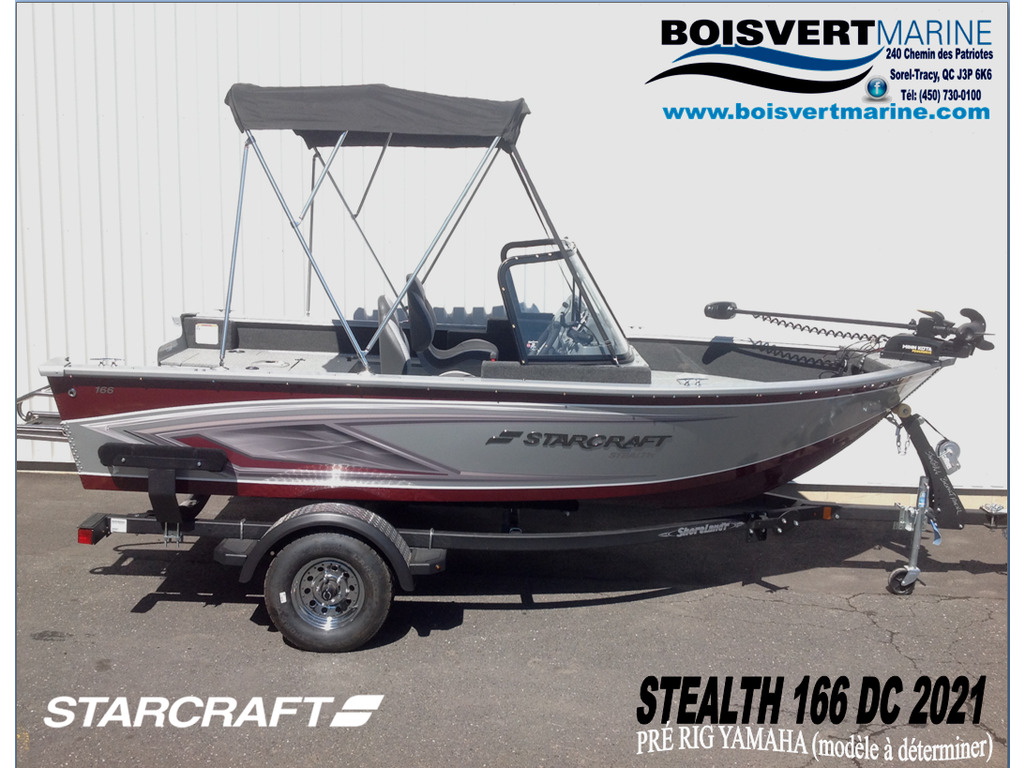 2021 Starcraft boat for sale, model of the boat is Stealth / Furtif 166 Dc & Image # 1 of 15