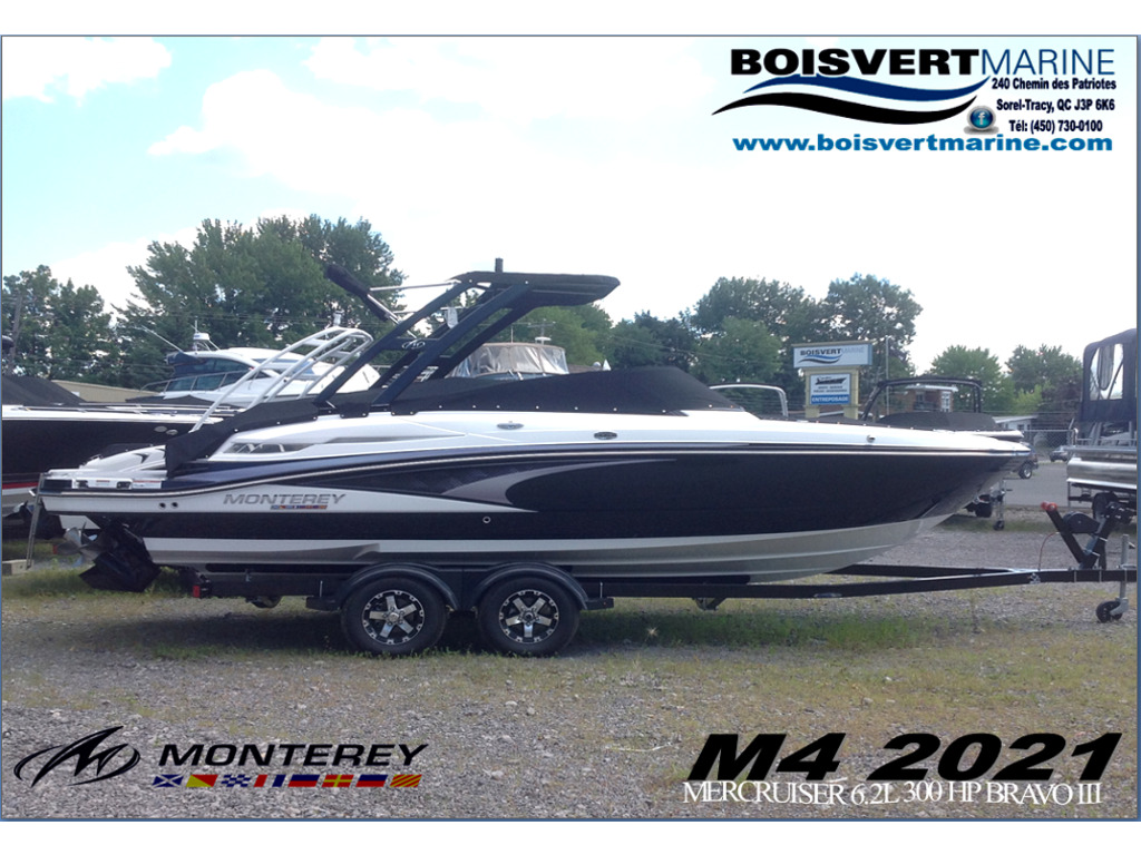 2021 Monterey boat for sale, model of the boat is M4 & Image # 1 of 16