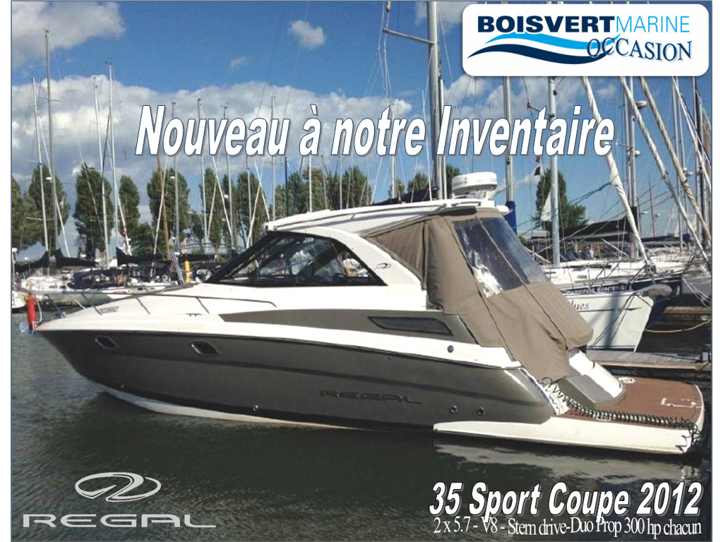 2012 Regal boat for sale, model of the boat is 35 Sport Coupe & Image # 1 of 12