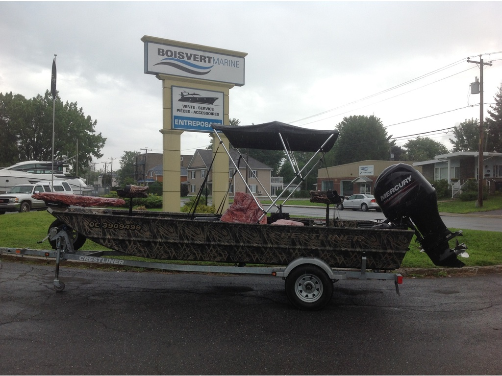 2013 Crestliner boat for sale, model of the boat is 1860 Sc & Image # 15 of 15