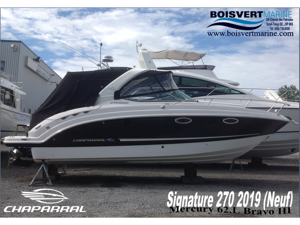 2019 Chaparral boat for sale, model of the boat is 270 Signature & Image # 1 of 26