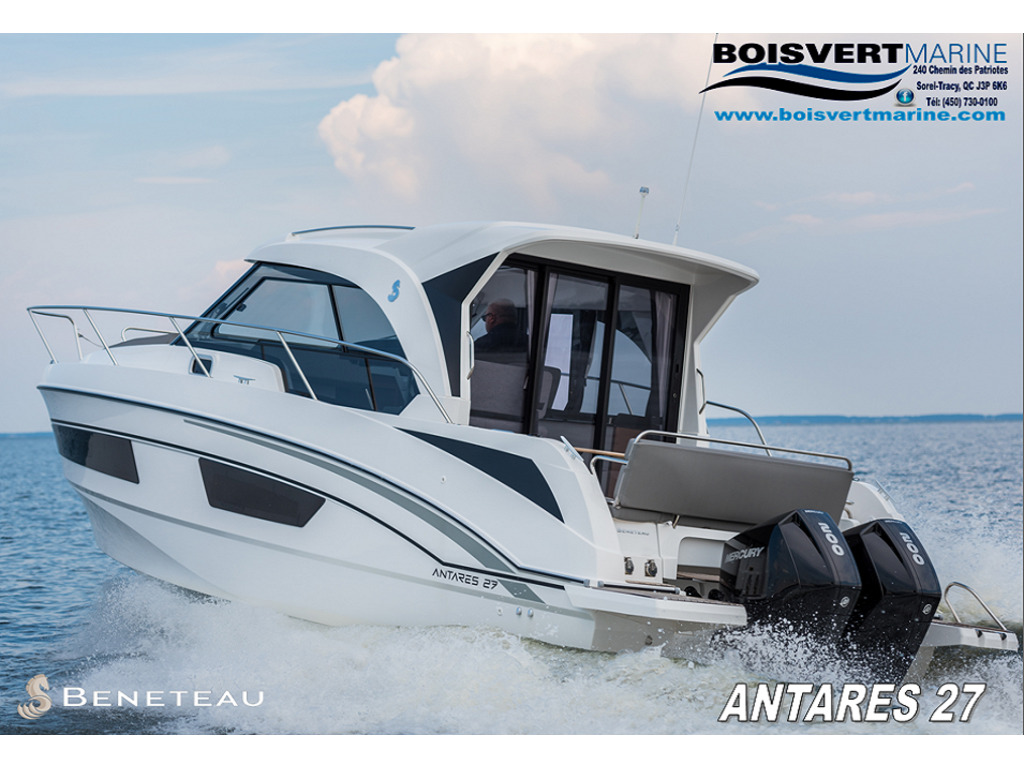 2021 Beneteau boat for sale, model of the boat is Antares 27 & Image # 1 of 13