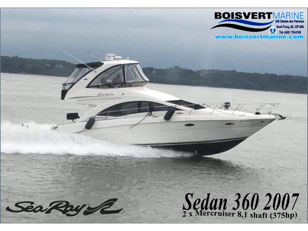 2007 Sea Ray boat for sale, model of the boat is Sedan 360 & Image # 2 of 19
