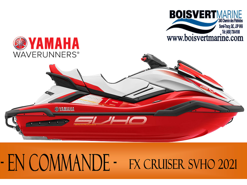 2021 Yamaha boat for sale, model of the boat is Fx Cruiser Svho & Image # 1 of 9