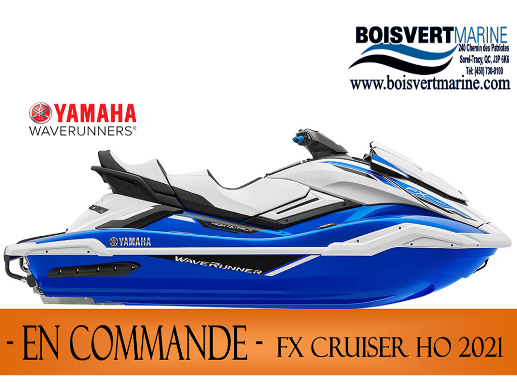 2021 Yamaha boat for sale, model of the boat is Fx Cruiser Ho & Image # 1 of 5