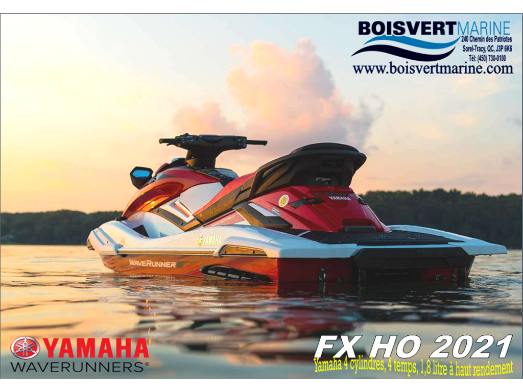 2021 Yamaha boat for sale, model of the boat is Fx Ho & Image # 6 of 6