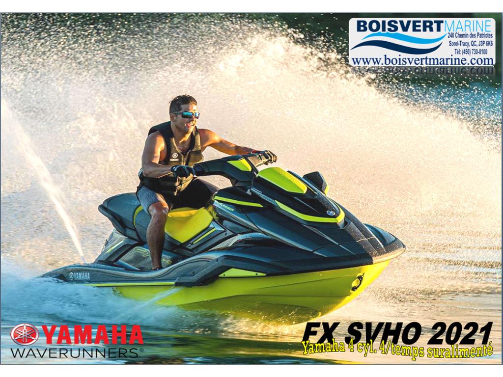 2021 Yamaha boat for sale, model of the boat is Fx Svho & Image # 1 of 9