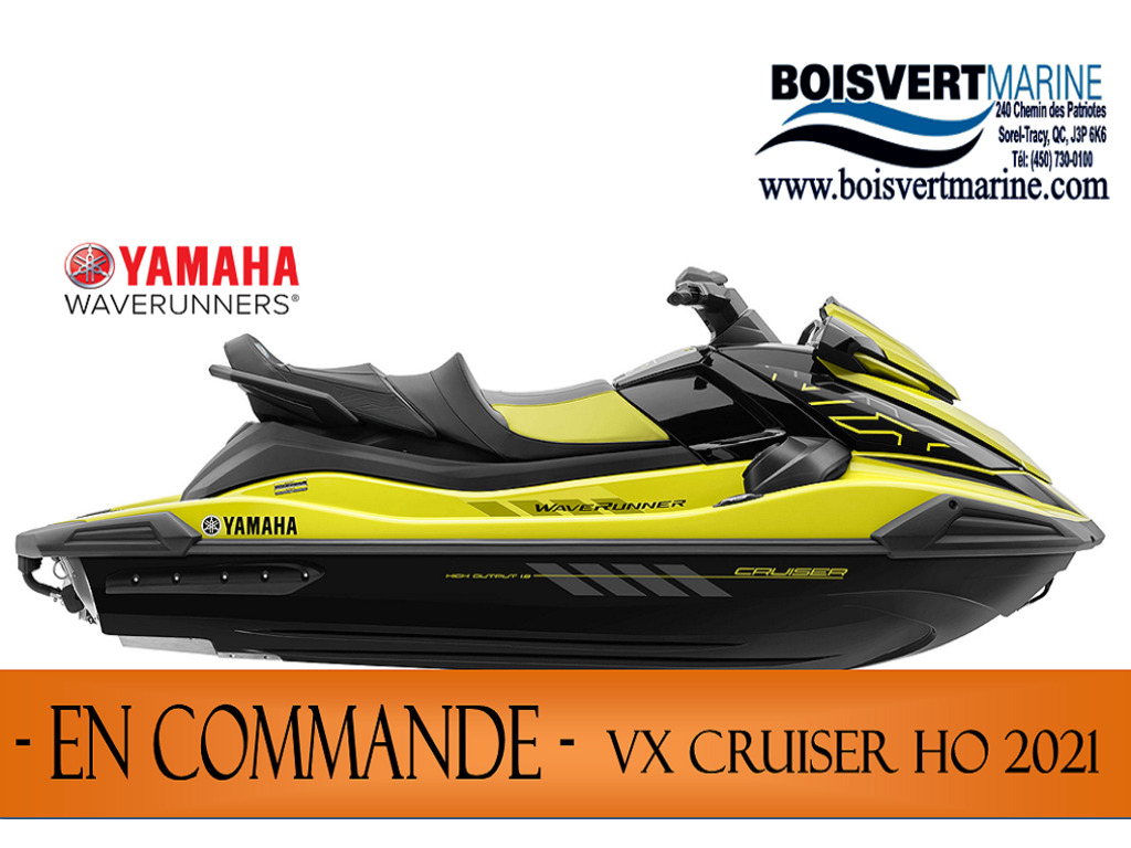 2021 Yamaha boat for sale, model of the boat is Vx Cruiser Ho & Image # 1 of 8
