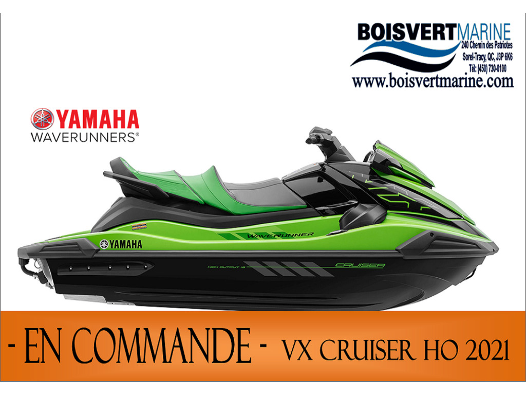 2021 Yamaha boat for sale, model of the boat is Vx Cruiser Ho & Image # 1 of 3