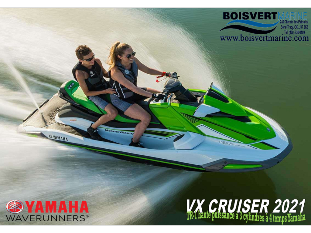 2021 Yamaha boat for sale, model of the boat is Vx Cruiser & Image # 7 of 7