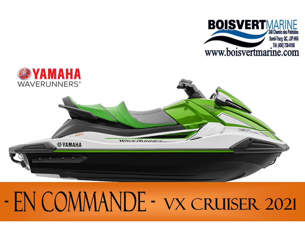 2021 Yamaha boat for sale, model of the boat is Vx Cruiser & Image # 1 of 7