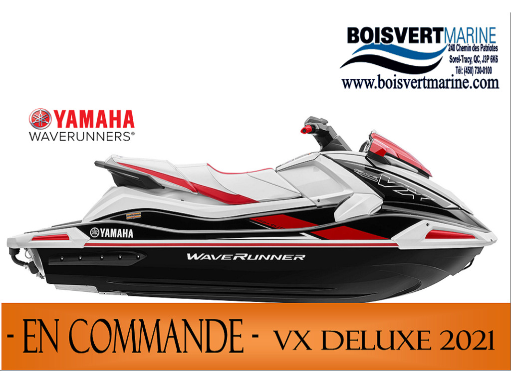 2021 Yamaha boat for sale, model of the boat is Vx Deluxe & Image # 1 of 6
