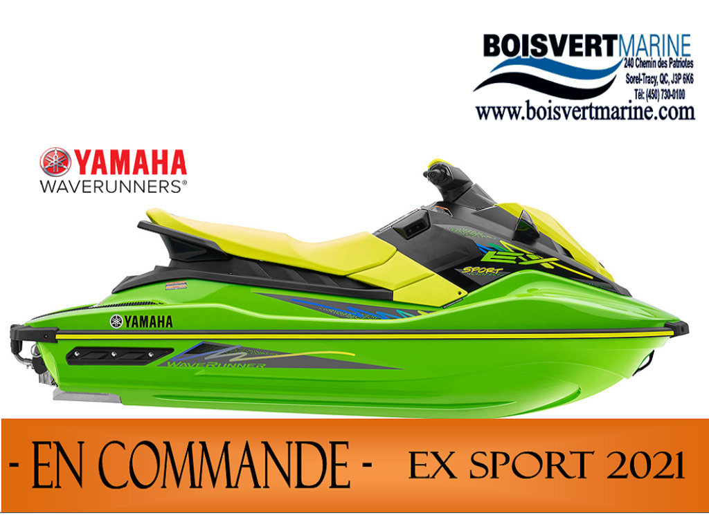 2021 Yamaha boat for sale, model of the boat is Ex Sport & Image # 1 of 6