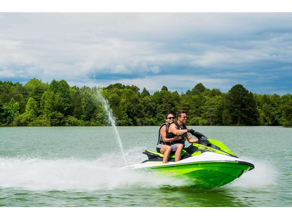 2021 Yamaha boat for sale, model of the boat is Waverunner Ex Deluxe & Image # 3 of 7