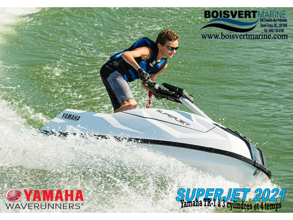 2021 Yamaha boat for sale, model of the boat is Superjet & Image # 1 of 5