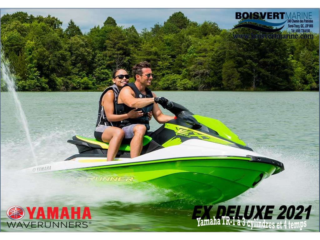 2021 Yamaha boat for sale, model of the boat is Waverunner Ex Deluxe & Image # 1 of 7