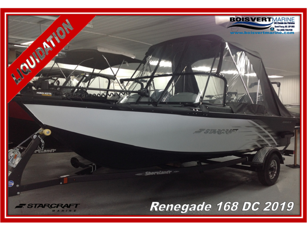 2019 Starcraft boat for sale, model of the boat is Renegade  168 Dc  & Image # 1 of 14