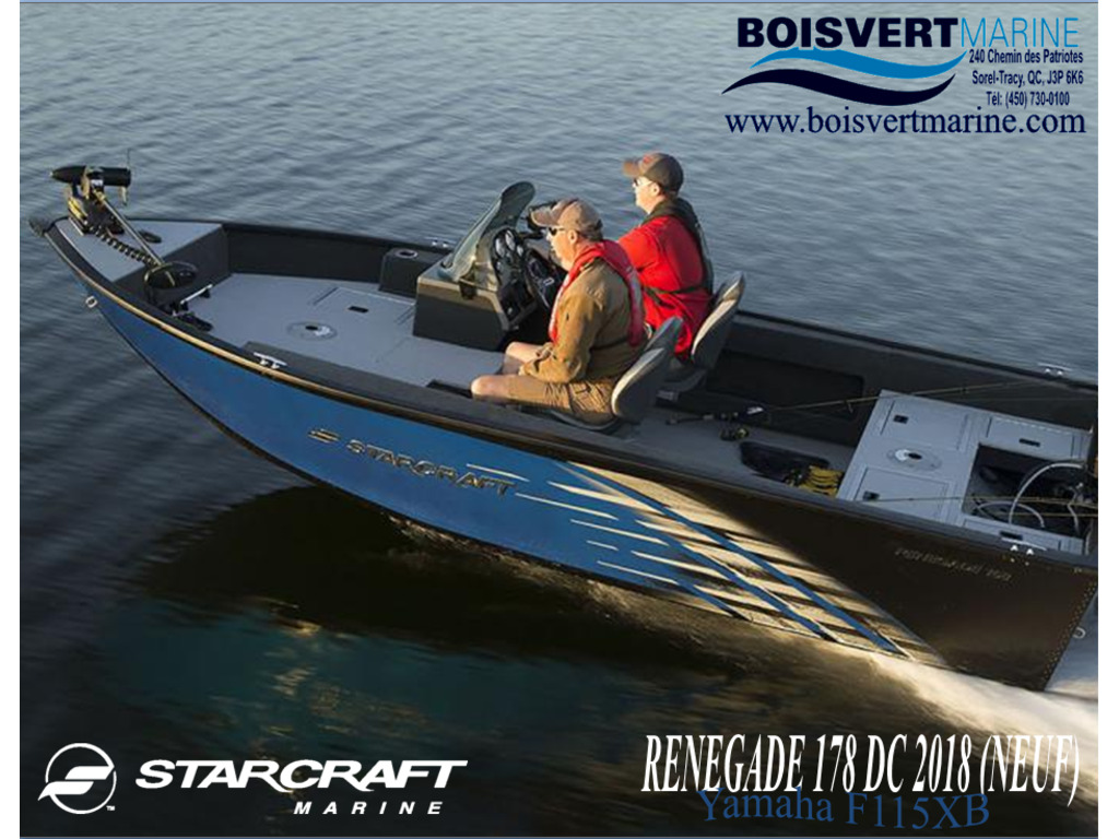 2018 Starcraft boat for sale, model of the boat is Renegade 178dc & Image # 1 of 9
