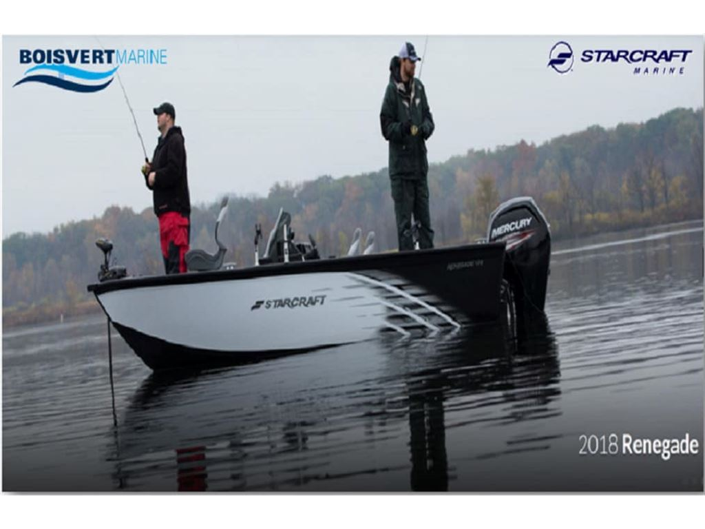 2018 Starcraft boat for sale, model of the boat is Renegade 178dc & Image # 2 of 9