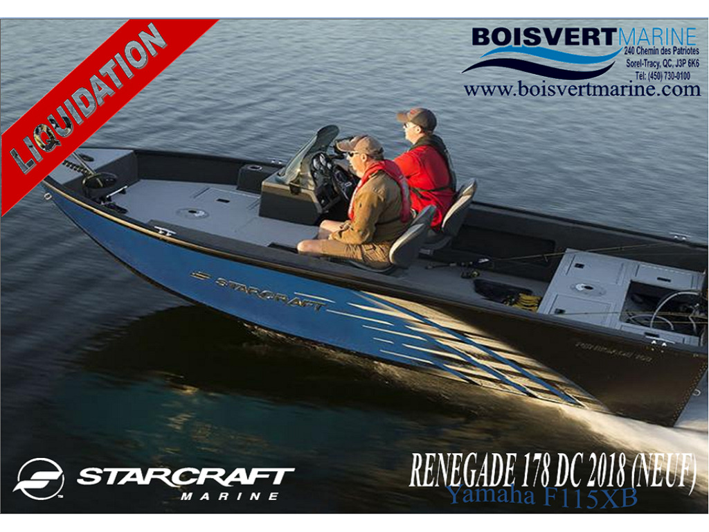 2018 Starcraft boat for sale, model of the boat is Renegade 178dc & Image # 1 of 10
