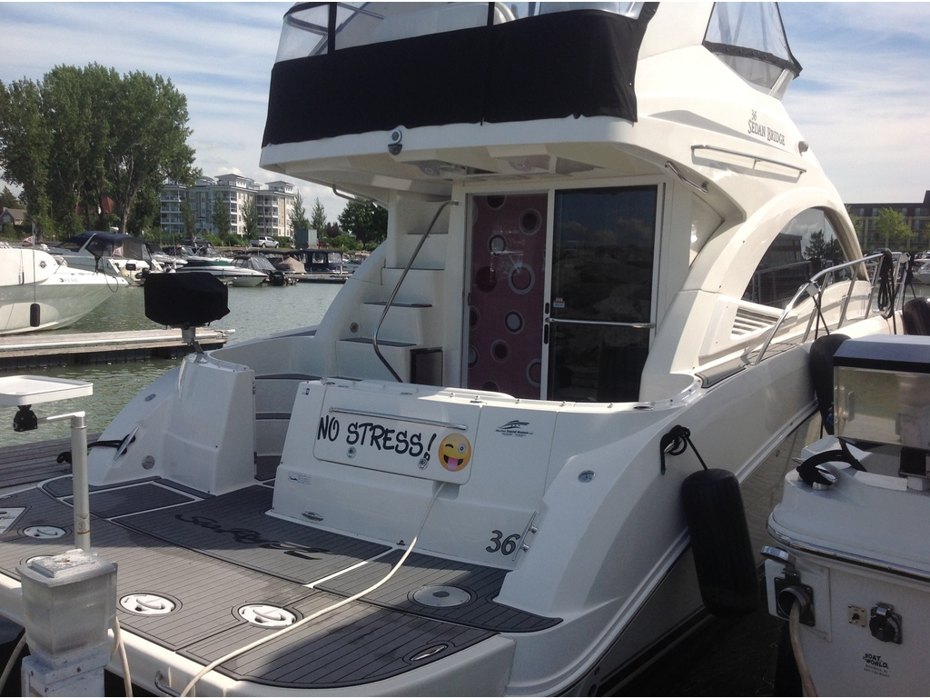 2007 Sea Ray boat for sale, model of the boat is Sedan 360 & Image # 4 of 19