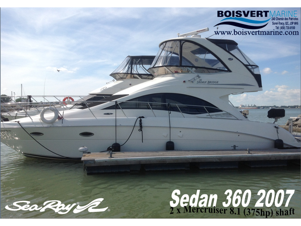 2007 Sea Ray boat for sale, model of the boat is Sedan 360 & Image # 1 of 19