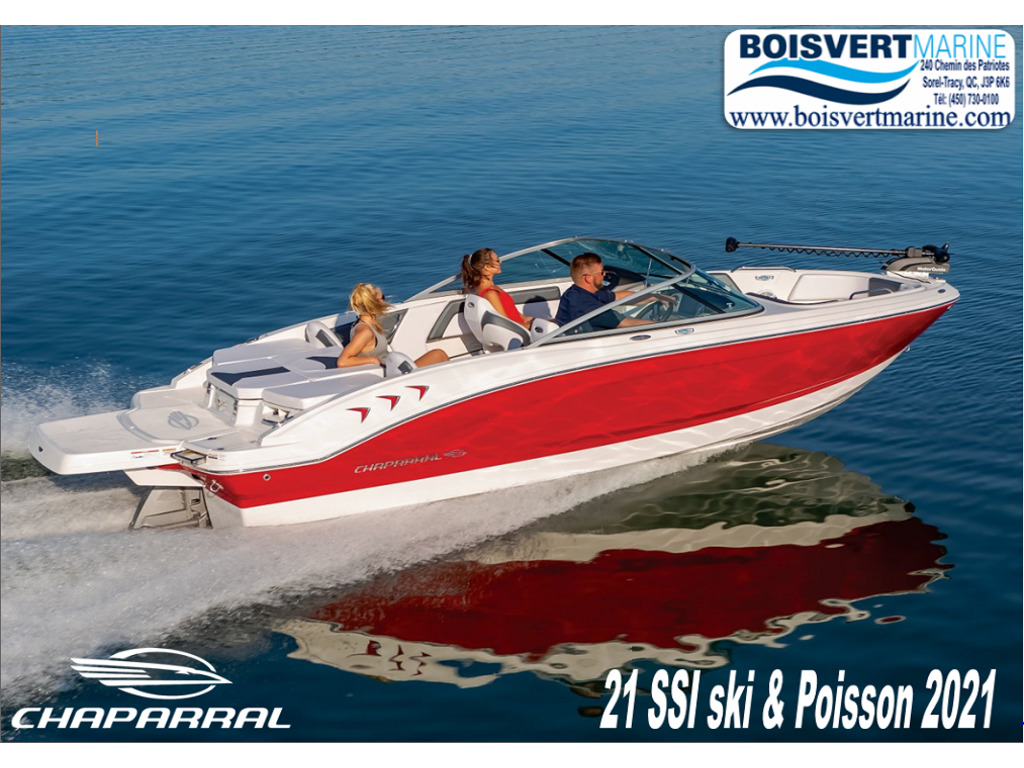 2021 Chaparral boat for sale, model of the boat is 21 Ssi Ski & Poisson & Image # 1 of 14