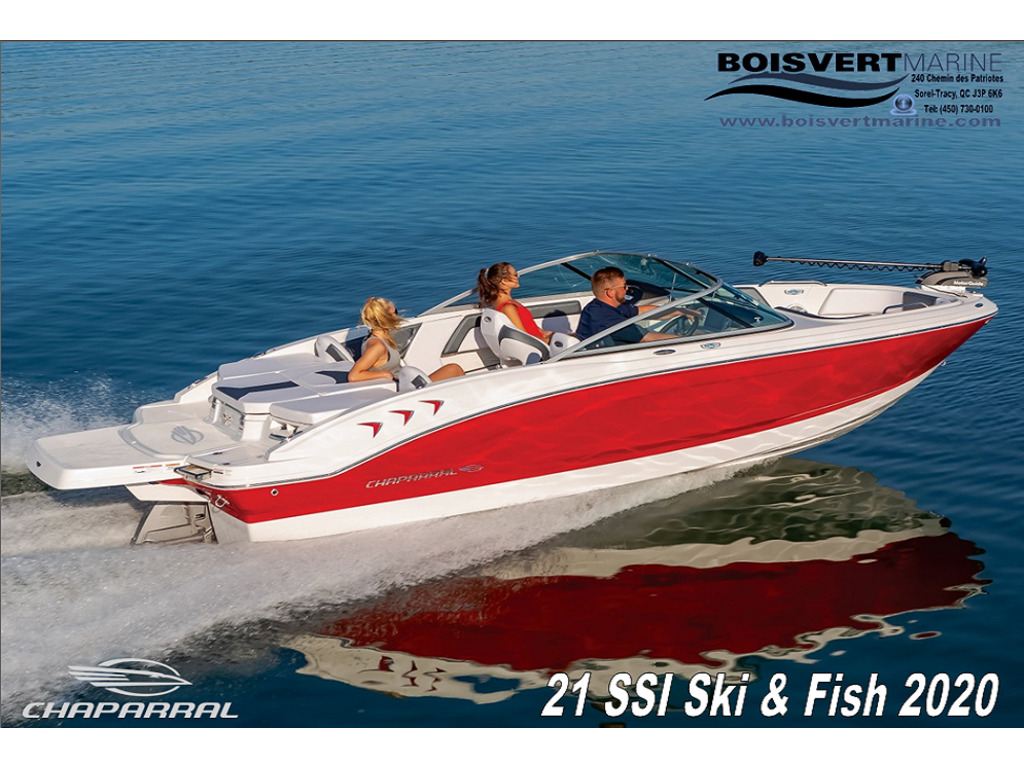 2021 Chaparral boat for sale, model of the boat is 21 Ssi Ski & Poisson & Image # 3 of 14