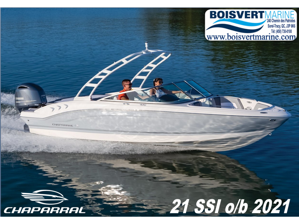 2021 Chaparral boat for sale, model of the boat is 21 Ssi O/b & Image # 1 of 15