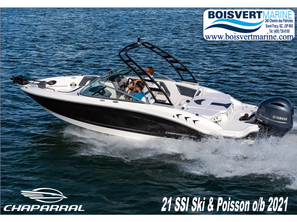 2021 Chaparral boat for sale, model of the boat is 21 Ssi Ski & Poisson O/b & Image # 1 of 4
